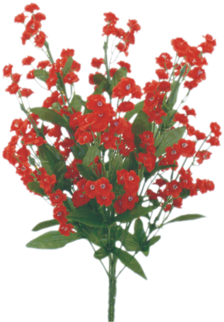 "18"" Baby's Breath Filler: Red"