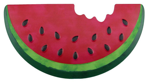 "12"" Embossed Metal Watermelon"
