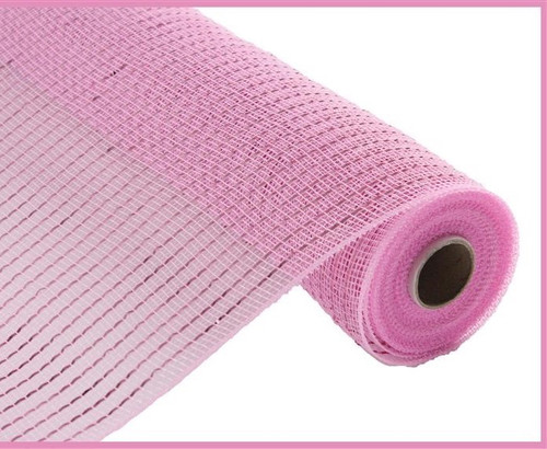 """NEW 10"""" Deco Poly Mesh: Metallic Pink Wider Foil"""