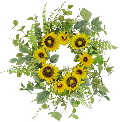 "24"" Sunflower Wreath"