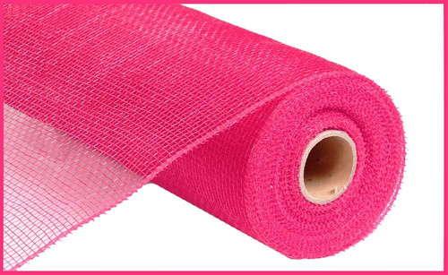 "10"" Deco Poly Mesh: Hot Pink"