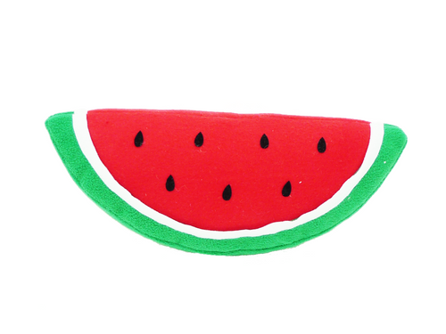 "12"" Plush Watermelon Slice"