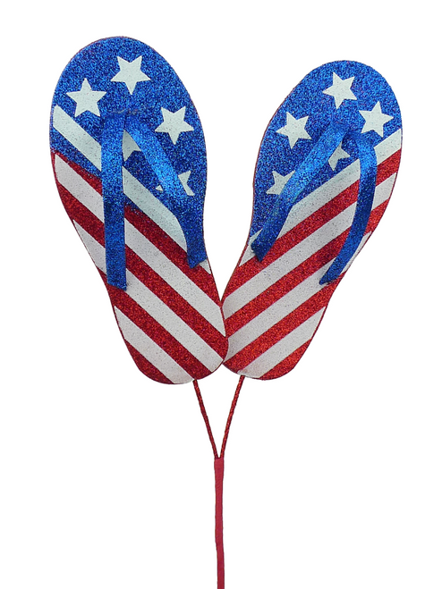 Glitter Stars & Stripes Flip Flop Spray - 20""