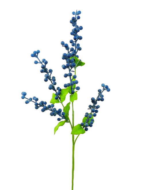 Blue Berries Spray - 26""
