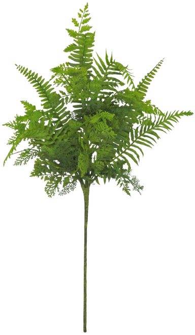 "20"" Mixed Fern Bush"