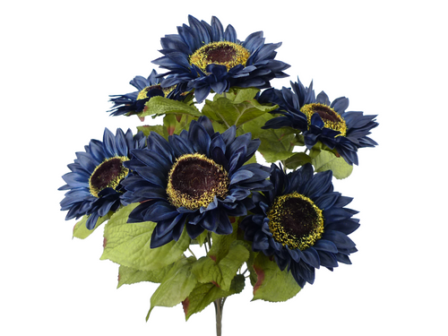 Sunflower Bush: Navy Blue (7)