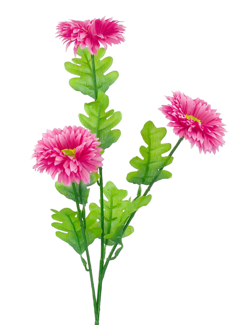 "23"" Gerber Daisy Spray: Pink (3)"
