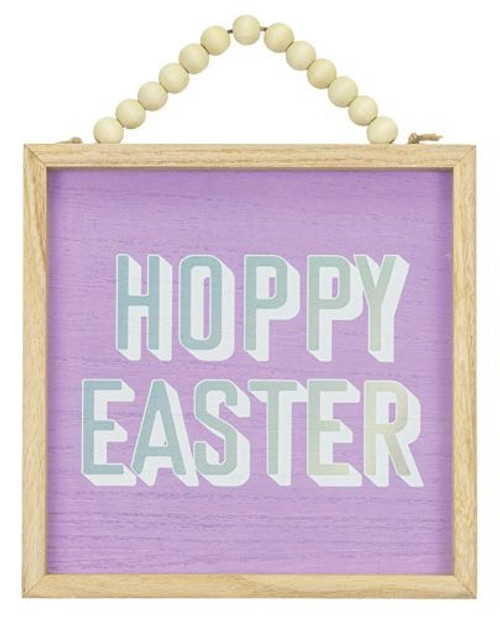 Hoppy Easter Framed Hanger