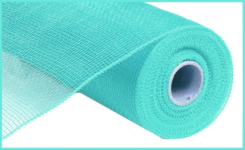 "10"" Deco Poly Mesh: Turquoise Green"