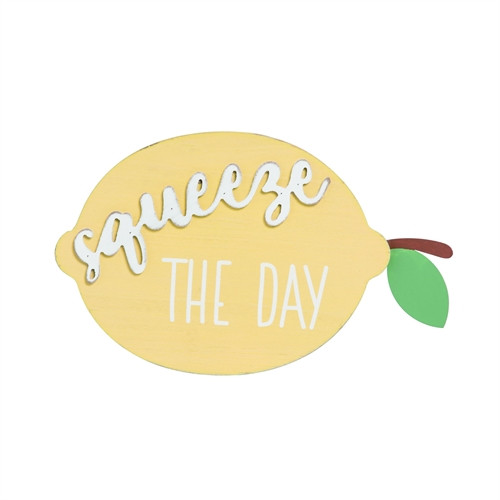 Squeeze the Day Lemon Decor