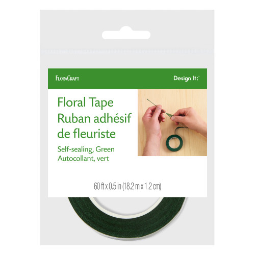Green Floral Tape: 1/2 inch x 60'