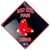 "12""Boston Red Sox Fan Xing Sign"