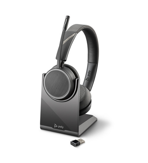 Voyager 4220 UC USB-A, With Charging Stand
