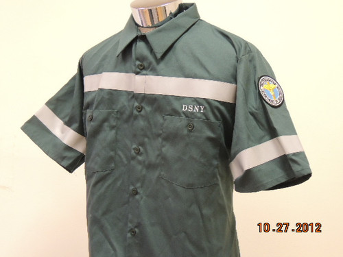 DSNY WORK SHIRT S/S
