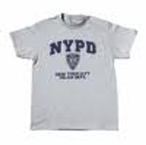 NYPD Printed Gray Tee Shirt