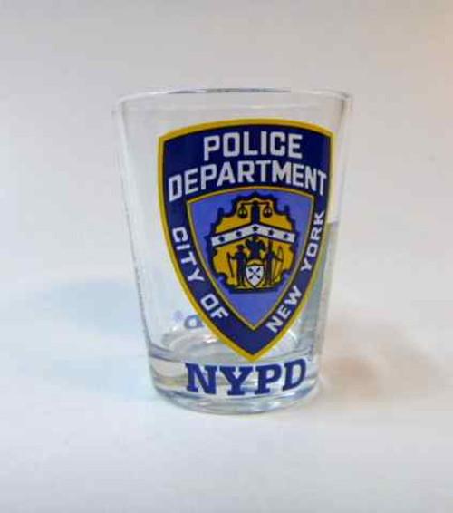 NYPD Shot Glasses