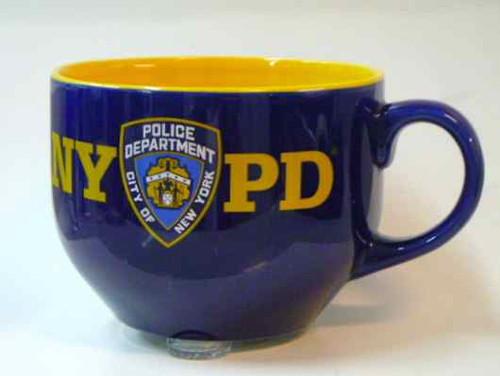 NYPD Soup Mug