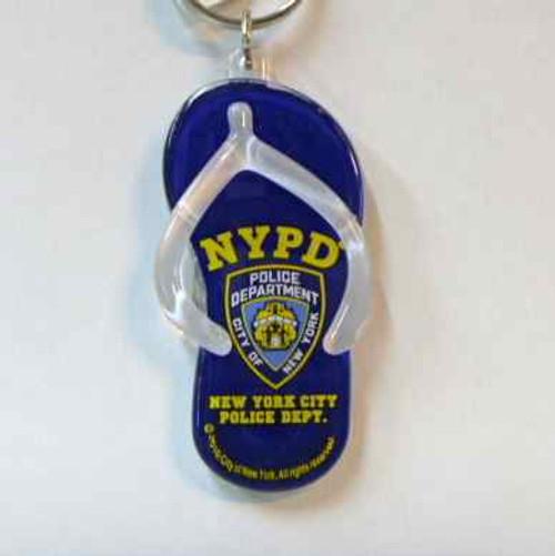 NYPD Flip Flop key chian