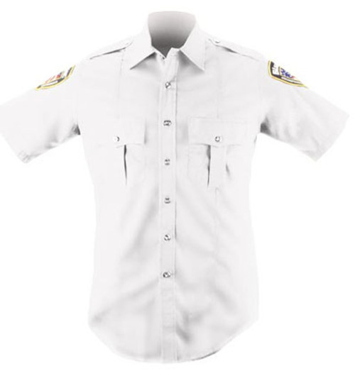 White Short Sleeve Shirt Women's