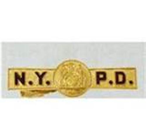NYPD Gold Tie clip