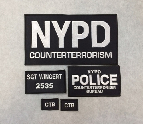 CounterTerrorism Patches