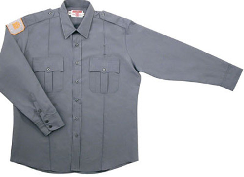 Gray Academy Long Sleeve Shirts