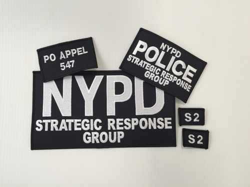 Strategic Response Group Patches