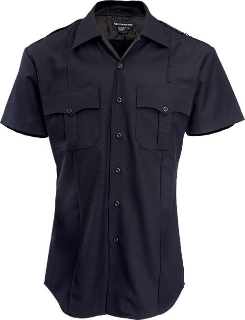 NYPD Navy Short Sleeve Women's Shirt