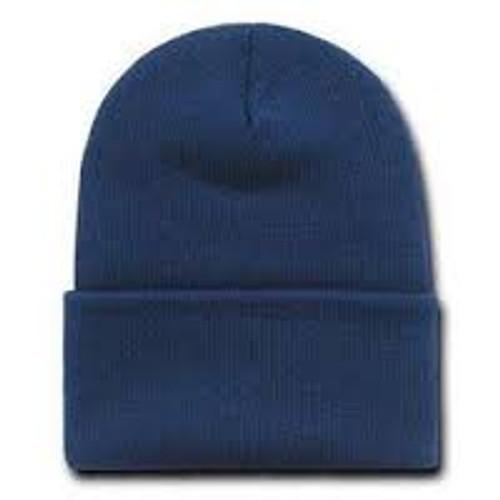 Gym Navy Knit Hat