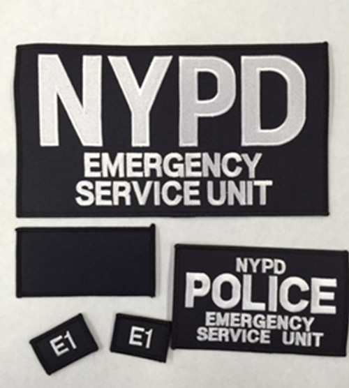 Emergency Service Unit Patch set