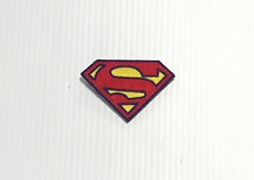 Super Hero Vest Patch Superman