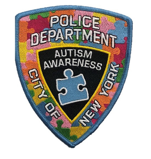 Autism NYPD Shoulder Patch