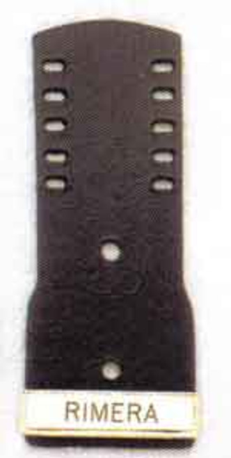 Shield Backing up to 5 holes