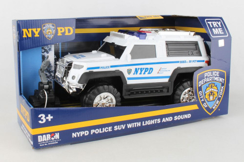 NYPD  SUV  w/ LIGHT & SOUNDS