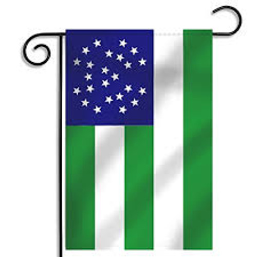 Garden Flag NYPD Flag