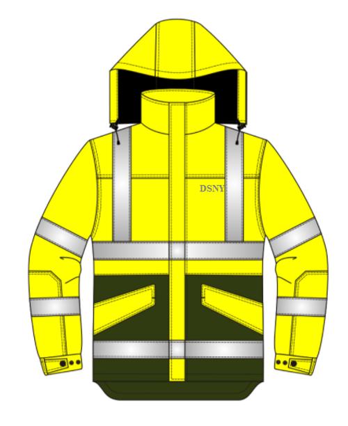 NEW DSNY Hi-Viz Jacket