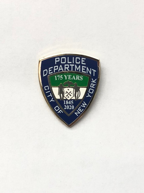 175th NYPD Anniversary Lapel pin