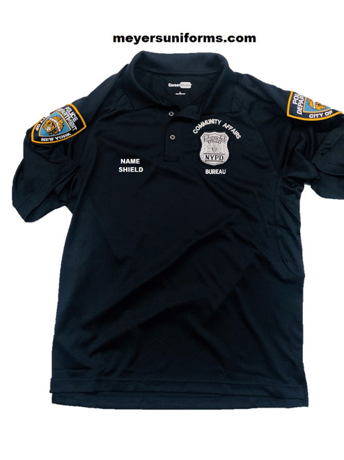 New NYPD CAB Polo Shirt