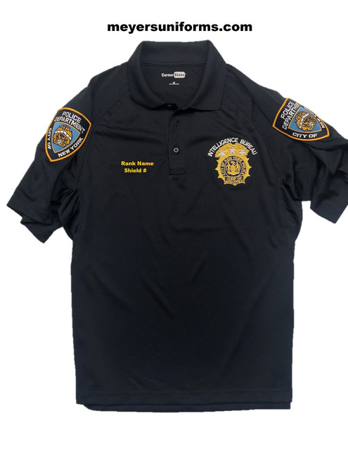 New NYPD Intel Polo Shirt