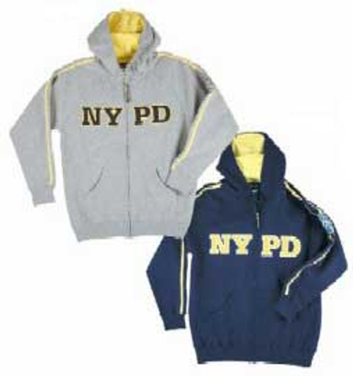 NYPD Full Zip Up Sweatshirt
