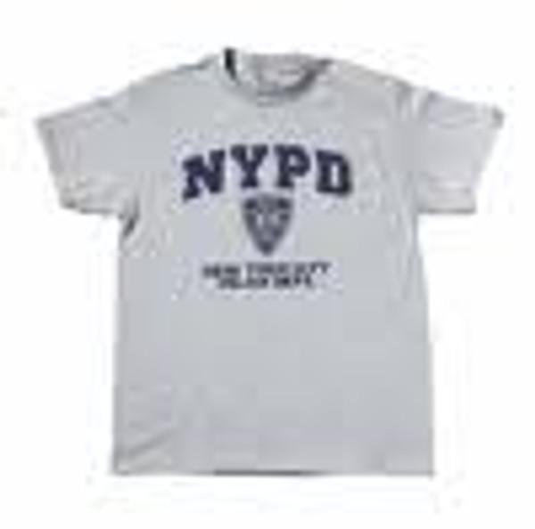 NYPD Printed Gray Tee Shirt