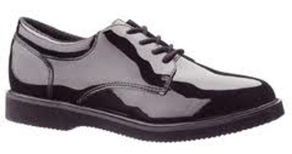 Patent Leather Bates Shoes Men's