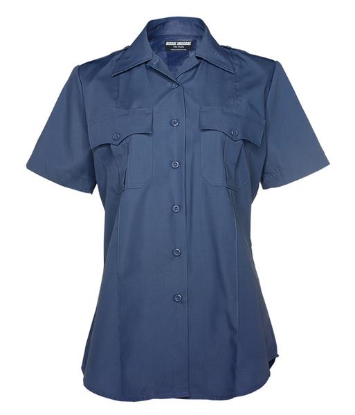 Med Blue Men's Short Sleeve
