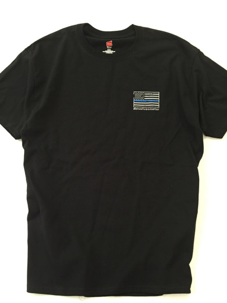 Blue Line Flag T-Shirt