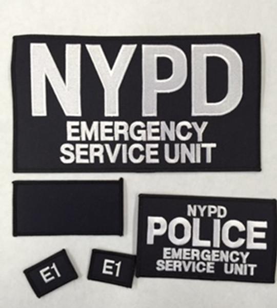 Emergency Service Unit Patch set