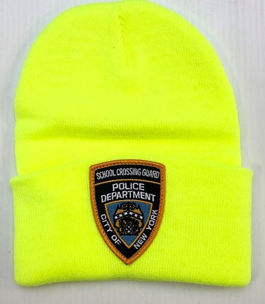 SCG Knit cap with Patch