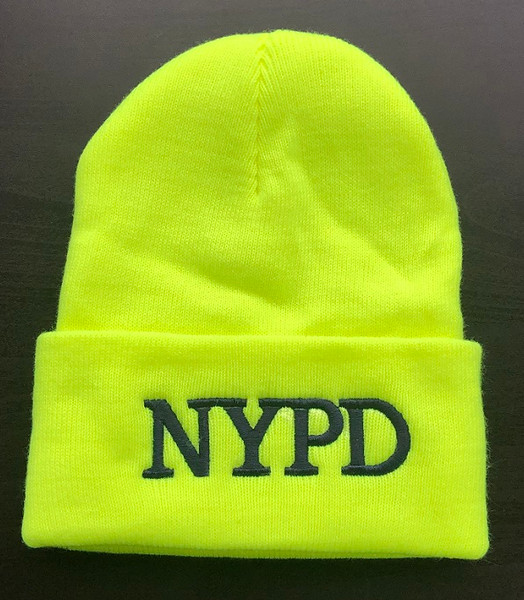 SCG Knit cap with NYPD