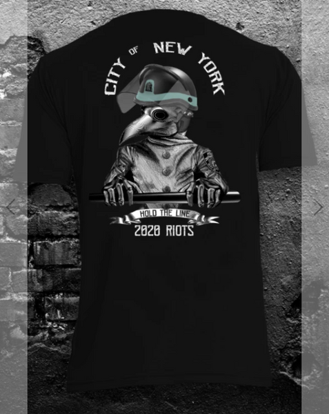 NYC RIOT DEPLOYMENT T-SHIRT