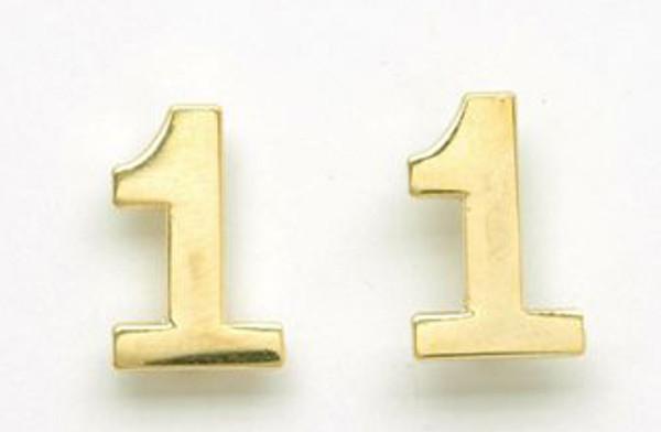 Single digit collar Brass