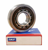 NUP207 ECP - SKF Cylindrical Roller Bearing - 35x72x17mm